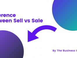 Difference Between Sell Vs Sale