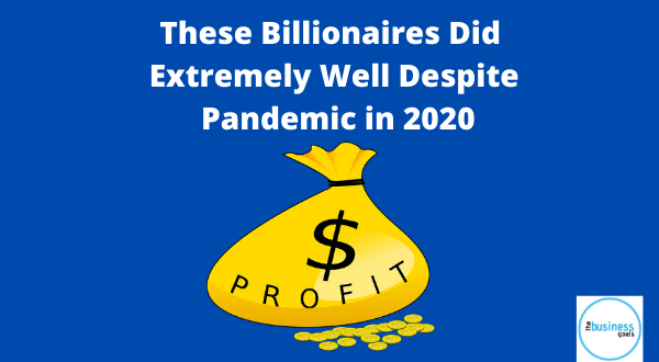 billionaires wealth increase during pandemic