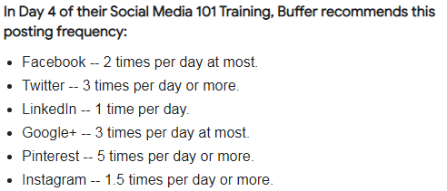 Posting schedule can boost social media engagement