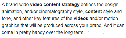 Boost engagement by video content