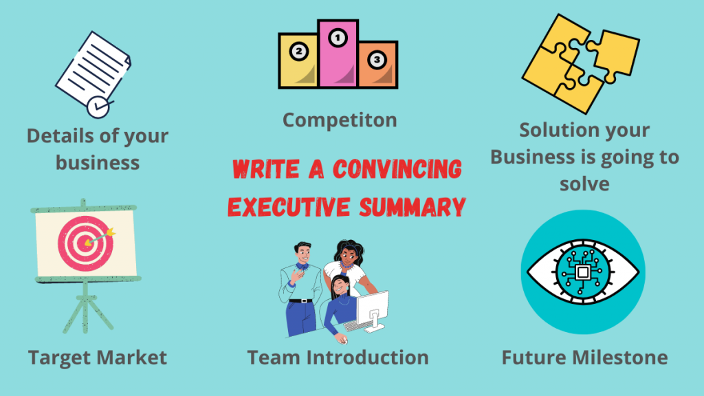 writing a executive summary for business plan